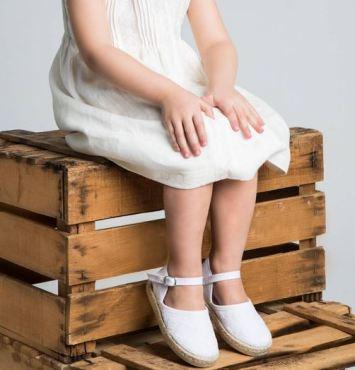 scarpe bimba bianche